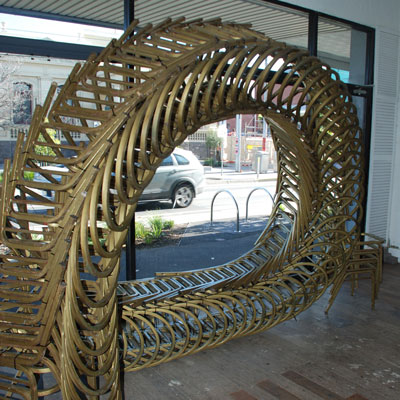 Chair Loop Sculpture