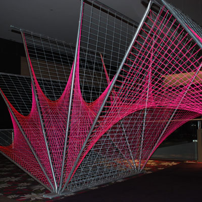 Temporary Fence Sculpture